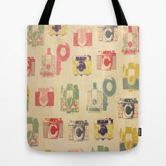 Camera Action Tote Bag by liberthine01 - $22.00