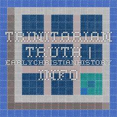 Trinitarian Truth | EarlyChristianHistory.info
