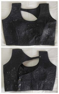 Best 12 Black New Sequins Designer Readymade Sequins Work Banglori Silk Wedding Stitched Blouse Crop Sari Top For Women tem – Designer Blouse Fabric – Banglori Silk Work – Embroidered Auction for – 1 Blouse/Choli/Top Style – Indian Blouse Top Occasion : Saree Blouse Neck Designs, Simple Blouse Designs, Stylish Blouse Design, Black Blouse Designs, Blouse Patterns, Latest Blouse Designs, Blouse Designs Catalogue, Vetement Fashion, Indian Blouse