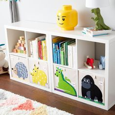 3 Sprouts Rhino Toy Storage Cube | The Container Store