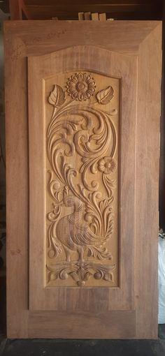 Wooden Main Door Design, Wood Design, Wooden Doors, Windows And Doors, Home Decor, Decoration Home, Room Decor, Home Interior Design, Tree Designs