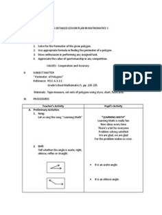 Detailed Lesson Plan in Mathematics Grade 2 Reading Lesson Plans, Math Lesson Plans, Lesson Plan Templates, Reading Lessons, Math Lessons, Grade 1 Lesson Plan, Our Father Prayer, School Report Card, Educational Psychology