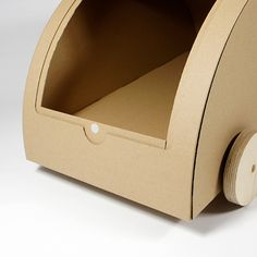 cardboard car - KAARA - natur 3