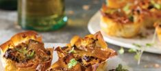 Biltong Quiche Phyllo Parcels with Cream Cheese - Food Lovers Market