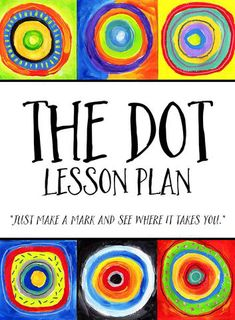 International Dot Day Lesson Plan - International Dot Day, a celebration of creativity, courage and collaboration. THE DOT, by Peter Reynolds, 2003 This lesson plan celebrates International Dot Day with a student art exhibition based on the color stu Art Lessons For Kids, Art Lessons Elementary, Art For Kids, Art Projects For Adults, Toddler Art Projects, Kindergarten Art Lessons, Color Art Lessons, Art School For Kids, Collaborative Art Projects For Kids