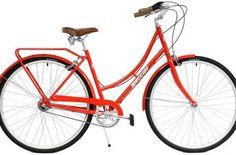 Melbourne City Red City Cruiser Bike Oz Tour Guide
