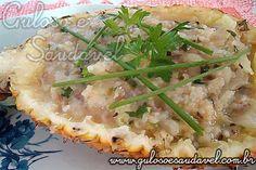 Foto: A sugestão para o #jantar, é um delicioso Risoto de Abacaxi com Ervas, que sem dúvida vai encantar todos!  #Receita aqui => http://www.gulosoesaudavel.com.br/2011/05/16/risoto-de-abacaxi-com-ervas/