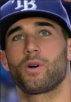 When you're having a bad day just stare into the eyes of Kevin kiermaier <3