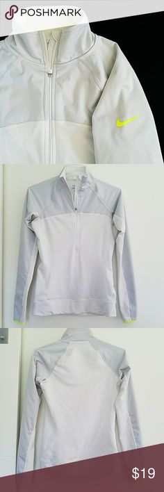 NIKE PRO DRI-FIT 32-40 bust  26 length  27 sleeve  dirty spots, see photos. needs a cleaning Nike Tops Sweatshirts & Hoodies