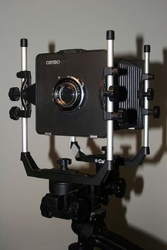 Official mancave view camera (because I already have one) Calumet Cambo 4x5 Monorail
