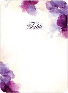 Printable Table Numbers- Wedding Paper Divas. Great Site!