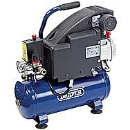 Draper 24975 Electric 230 Volt 8 Litre Air Compressor 0.75kw