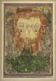 "Paul Klee, ""Lomolarm"" (The Crying Man), 1923."