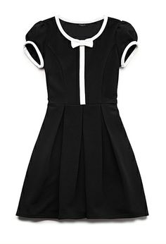 Classic A-Line Dress (Kids) | FOREVER21 girls - 2000126391 it's for kids... but can i wear it anyways? :D