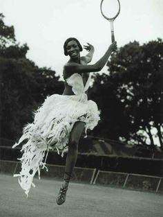 Holding court: Venus Williams photographed by Koto Bolofo for Steidl