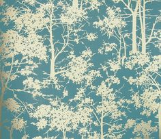 Mandara Wallpaper - Turquoise and Gold £44.50 per roll (x 2 rolls!)
