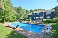Designer 6br w pool & close to town - vacation rental in East Hampton, New York. View more: #EastHamptonNewYorkVacationRentals