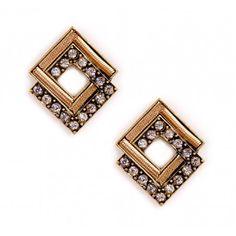 Vintage-inspired earrings