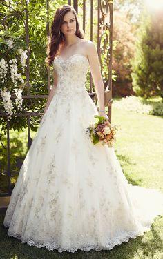 Wedding Dress from Essense of Australia Style D1757