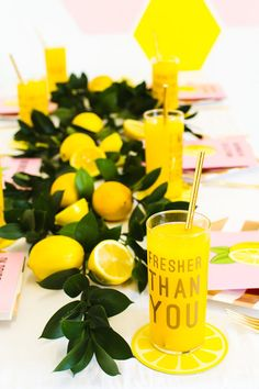Throw a Beyonce themed party, bridal shower or bachelorette party with our top styling tips! We've included Beyonce themed photo booth props, lyric stickers for glassware and a Beyonce themed bridesmaid card! Beyonce Party, Beyonce Birthday, 21st Birthday, Bachelorette Party Decorations, Bridal Shower Decorations, Bachelorette Parties, Yellow Party Decorations, Wedding Decorations, Deco Fruit