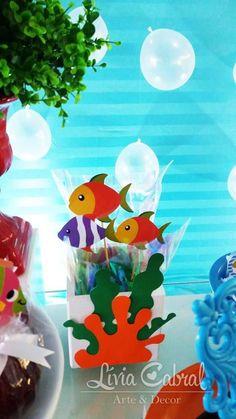 Fundo do Mar By Lívia Cabral Arte e Decor – Inspire sua Festa ®