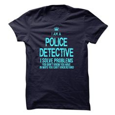 Im A/An POLICE DETECTIVE - #gifts for girl friends #diy gift. LIMITED AVAILABILITY => https://www.sunfrog.com/LifeStyle/Im-AAn-POLICE-DETECTIVE.html?68278