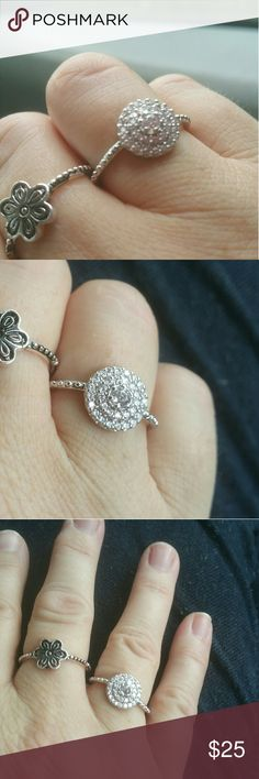 NEW Sparkling 925 Silver Ring Sizes 7 & 8 Availabl NEW Sparkling 925 Silver Ring Sizes 7 & 8 Available Jewelry Rings