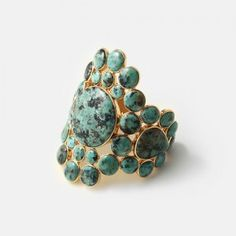 Discover cuff bracelets and bangles encrusted with mirrors and colorful stones. Bangle Bracelets, Bangles, Isharya, Bling, Turquoise Cuff, Costume Jewelry, Old Things, Jewelry Design, African