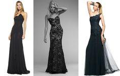 Madrinhas de casamento: Vestidos de festa preto