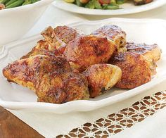 Grilled Chicken with Apricot-Balsamic Glaze recipe
