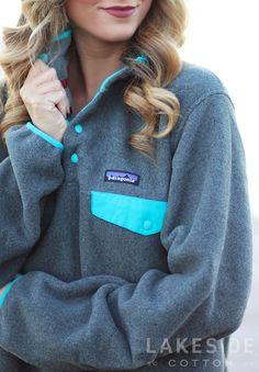 Patagonia Women's Lightweight Synchilla® Snap-T® Fleece Pullover   Lakeside Cotton