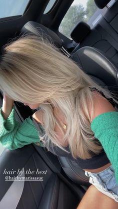 Brown Hair Balayage, Blonde Highlights, Babylights Blonde, Platinum Blonde Balayage, Blonde Ombre, Healthy Blonde Hair, Red To Blonde Hair, Long Blond Hair, Pretty Hairstyles