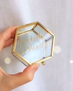 Wedding Prep, Wedding Bells, Wedding Favors, Wedding Decorations, Ringe Gold, Best Wedding Gifts, Elegant, Box, Perfume Bottles