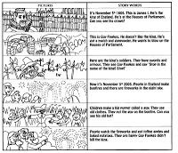 English for primary teachers and children: Guy Fawkes