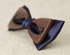 Bow tie wood bow tie for men Women's wooden bow tie
