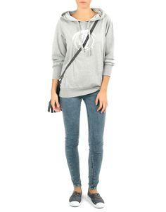 #Sudadera canguro cuello capucha Double Agent. En gris y en lila, por 14,99€ en www.doubleagent.es #fashion #clothes #ropa