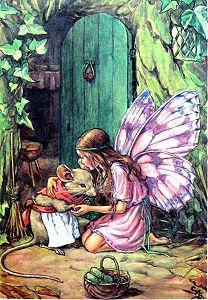 Cicely Mary Barker Flower Fairy illustration