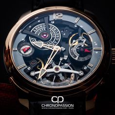 Greubel Forsey Double Tourbillon 30° Technique.