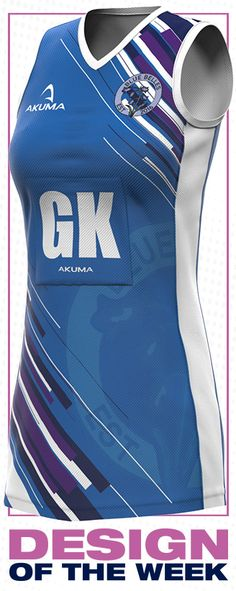 28459b7f7e Custom Design Netball Kit & Netball Team Dresses are available from Akuma  Sports, designed & manufactured in the UK with only a 3 weeks turnaround.