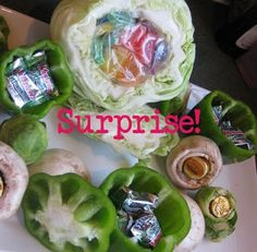 April Fools Day prank - yummy veggies