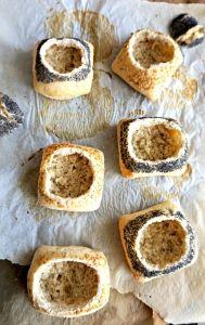 Oeufs cocotte petits pains
