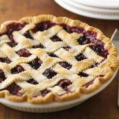 This fresh Berry Fruit Pie would go great with a scoop of vanilla ice cream! Recipe: http://www.bhg.com/recipe/pies/berry-fruit-pie/?socsrc=bhgpin061812