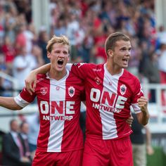 Joren Dom and Geoffry Hairemans – Royal Antwerp FC
