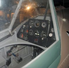 Cockpit of a IAR 80