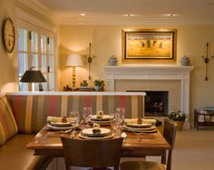 Traditional Spaces Built In Dining Bench Design, Pictures, Remodel, Decor and Ideas - page 10