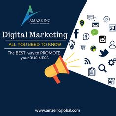 Amaze Inc best Digital Marketing company that helps you generate leads for your business. We are one of the pioneer Digital service providers in Bangalore.