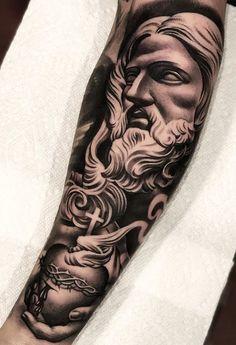 Badass Sleeve Tattoos, Realistic Tattoo Sleeve, Tattoo Sleeve Designs, Forarm Tattoos, Dope Tattoos, Body Art Tattoos, Tattoos For Guys, Forearm Tattoo Design, Forearm Tattoo Men