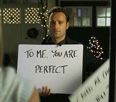 Love actually (2003)  My second favorite movie. :)