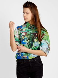 Couverture and The Garbstore - Womens - G. Jungle Love, Repeat, Print Patterns, Sunshine, Bomber Jacket, Tropical, Women's Fashion, River, Twitter