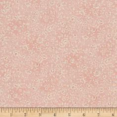 Kaufman Margeaux Flower Tonal Peach